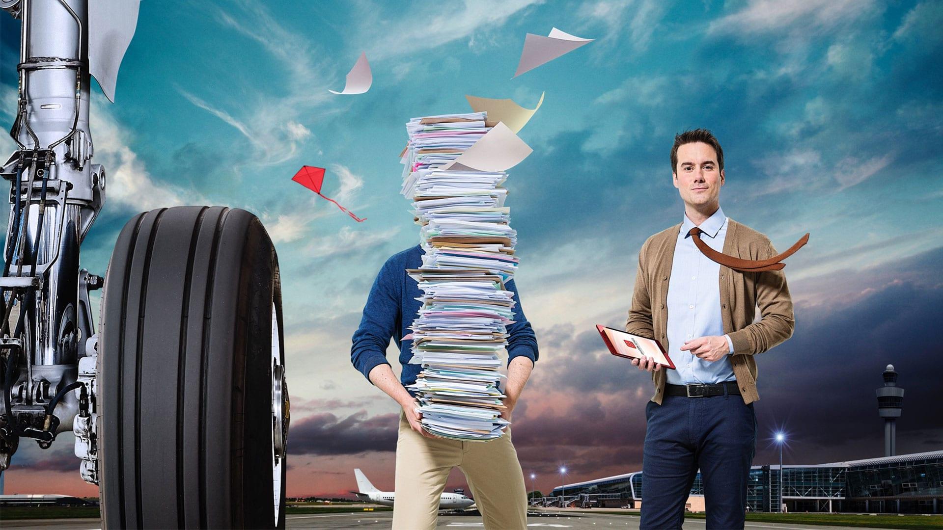 Papers airplane header gaston schul